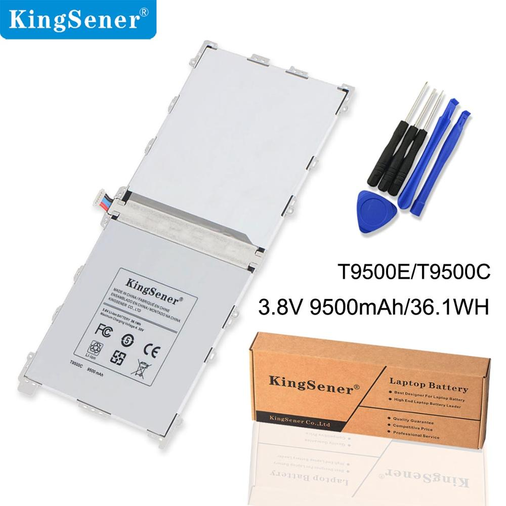 Samsung Galaxy Tab Note Pro üçün KingSener Yeni T9500C Batareya 12.2 SM-T900 SM-P900 SM-P901 SM-P905 T9500K T9500E T9500U
