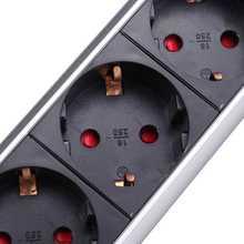 EU Plug 16A PULL UP 3 Power Socket 2 USB Charging Port Kitchen Table Desktop Sockets Retractable Countertops Worktop