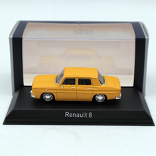 цена на NOREV 1:43 Renault 8 Yellow DIECASET Model Limited Edition Collection Toys Car