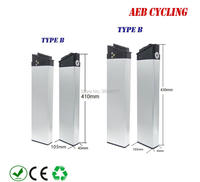 Lankeleisi/ZB folding ebike replacement battery 36V 12.5Ah 14.5Ah 16Ah 17.5Ah hidden battery for folding ebike 36V 250W 500W