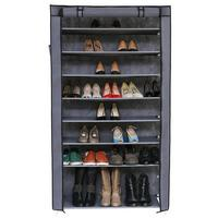 10 Tiers Dust proof Shoes Rack Household Shoes Storage Cabinet High Capacity Non woven Fabrics Shoes Box With Dust proof Cover