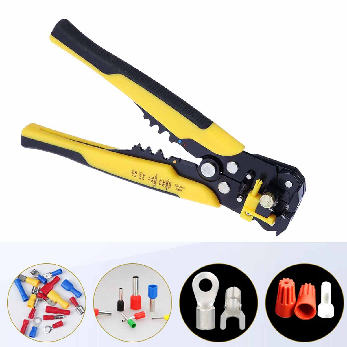 Multi-zweck Kabel Cutter Crimper Draht Cutter Kabel Stripper Abisolieren Werkzeug Snips Schleifen Draht Stripper Computer & Büro Networking