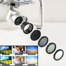 Набор фильтров для объектива Freya для DJI Phantom 3 профессиональный расширенный и стандартный /Phantom 4 ND4 ND8 UV PL