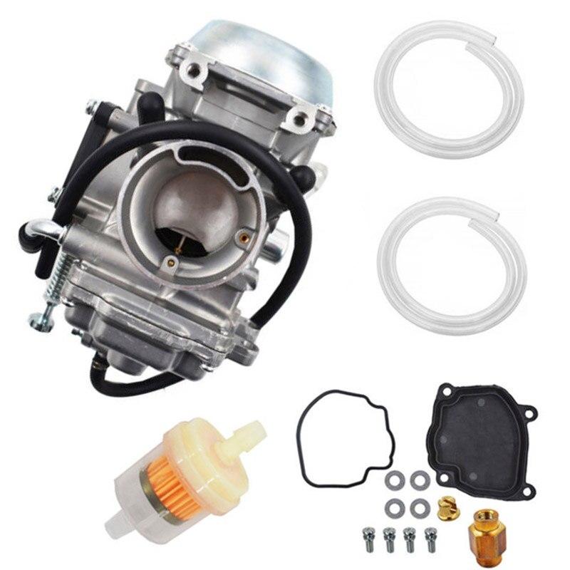Carburateur ligne de carburant filtres à gaz Kit pour su-zuki Qua-d Master 500 LTA500F 2000-2001 100% parfait remplacement pour l'ancien
