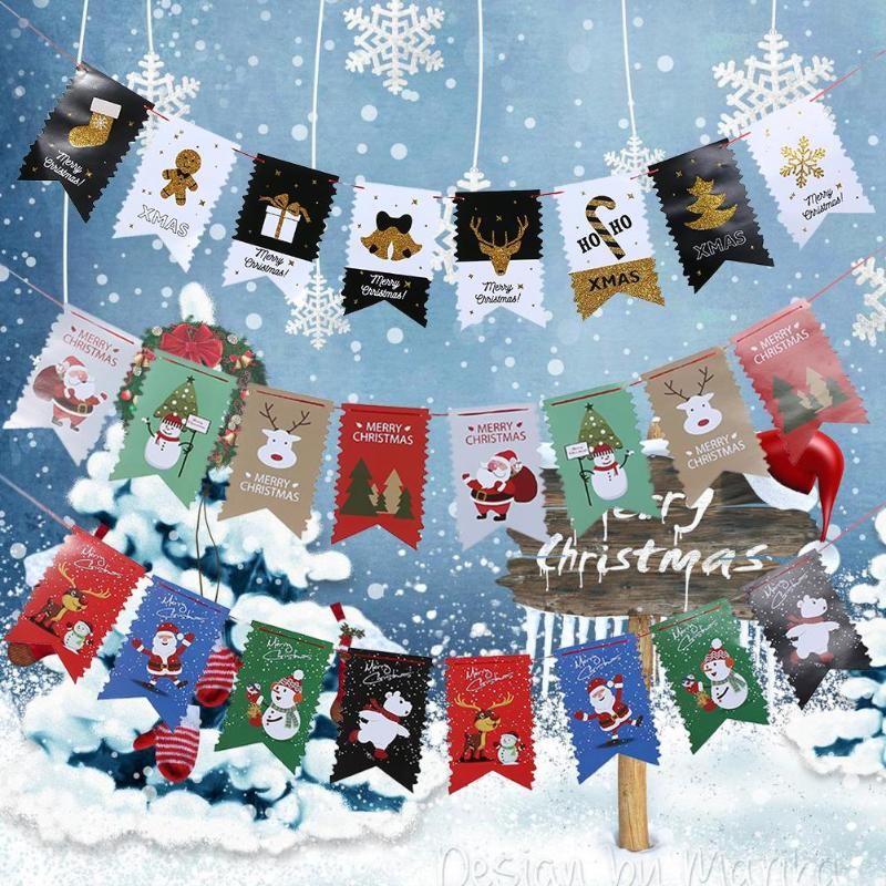 Home Decor Parties Companies: Christmas Decorations Flags Pennant Bunting Banner Garland