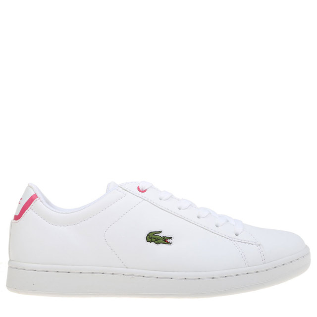 eb7bd8ebb88bb7 Lacoste CARNABY White Women Sneaker Shoes Rubber Flat Sport Skate Causal  Fashion Original Quality Size Small