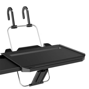Image 5 - Multifunctional car Foldable Laptop Computer Stands Non Slip Gear Hook Hide Cup Holder Lap Desk Sofa Bed Reading Notebook Laptop