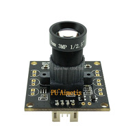 Surveillance camera 1920*1080P 5MP 25mm LENS MJPEG 30/60/120fps High Speed Mini CCTV Android Linux UVC Webcam USB Camera Module