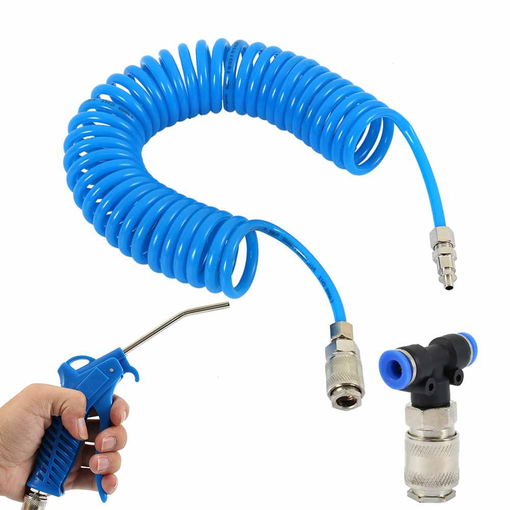 Air Duster Spray Spray Hose Truck Dust Blower Clean Nozzle Blow Spray Tool Kit For Car Paint Spray|Vacuum Cleaner Parts| |  - title=