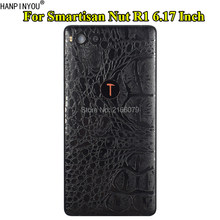 "For Smartisan Nut R1 6.17"" Crocodile / Snake Skin Pattern Leather Full Back Cover Matte Decals Wrap Sticker Film(China)"