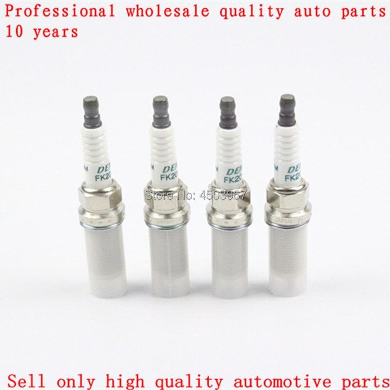 Image 5 - 4pcs/lot . FK20HR11 90919 01247 Double Iridium Spark Plugs For Toyota RAV4 crown REIZ Prado Venza Lexus V6 3.5L 9091901247 3426-in Spark Plugs & Glow Plugs from Automobiles & Motorcycles