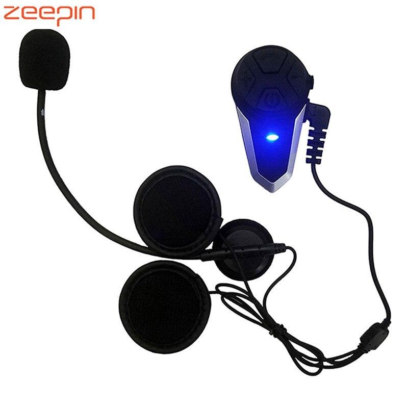Nouveauté Zeepin BT-S3 multifonctionnel moto Bluetooth 1000 m Bluetooth Interphone gamme Interphone moto casque