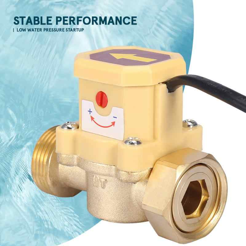 220 В Регулируемый Датчик расхода давления автоматический переключатель управления G3/4-G3/4 потока водяного насоса переключатель потока выключатель потока прерыватель