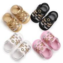 Милые новая модная одежда для малышей; обувь для младенцев летние детские пляжные сандалии прогулочная обувь
