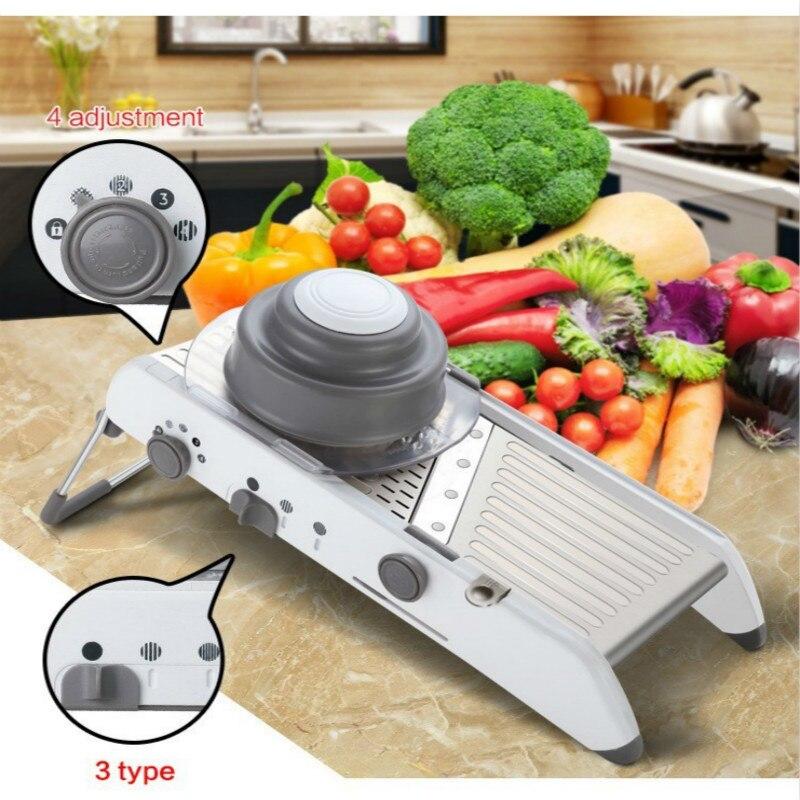 Koohoo coupe-légumes manuel trancheuse accessoires de cuisine multifonctionnel rond Mandoline trancheuse pomme de terre fromage Gadgets de cuisine