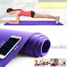 SGODDE 183*61*1 см толстый нескользящий коврик для йоги спортивный коврик тренажерный зал мягкие пилатес коврики складные коврики для бодибилдинга Фитнес упражнения