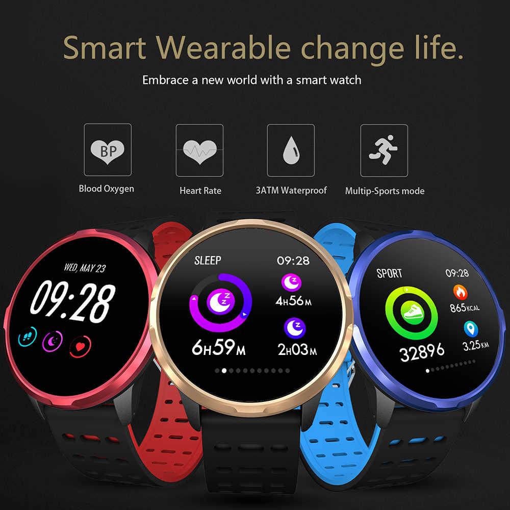 COLMI חכם שעון IP68 עמיד למים המתנה 30 ימים קצב לב צג שעון פעילות tracker גברים נשים Smartwatch