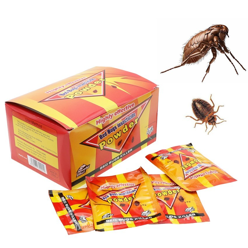 Wholesale 50pcs Effective Bed Bugs Killer Bait Powder to Kill Bedbugs  Insecticides Fleas Lice Pest Control idea for HomeWholesale 50pcs Effective Bed Bugs Killer Bait Powder to Kill Bedbugs  Insecticides Fleas Lice Pest Control idea for Home
