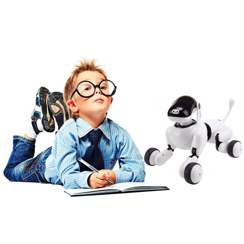 Enfants Interactive Électrique Robot qui danse Jouet Musique Éclairage Chant Voix Robot Chien jouet de chiot jouet d'enfant Cadeau de Vacances