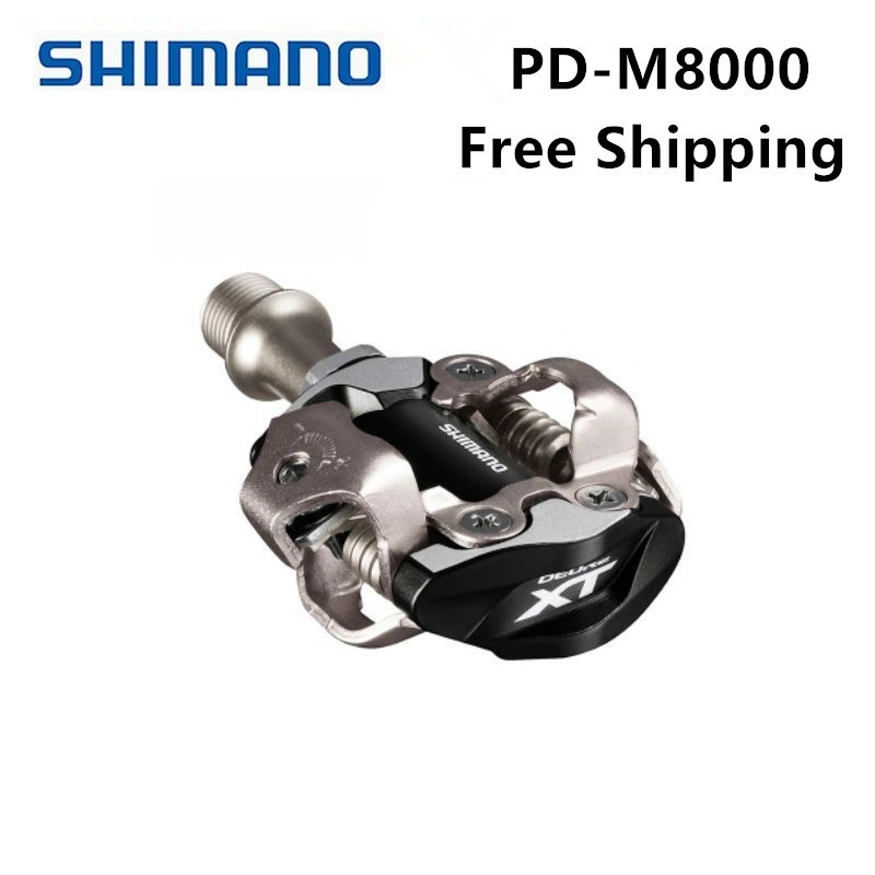 SHIMANO XT PD M8000 Vélo Pédale SPD Pédales VTT Composants En Utilisant pour Vélo Racing Vtt Vélo Pièces Livraison Gratuite