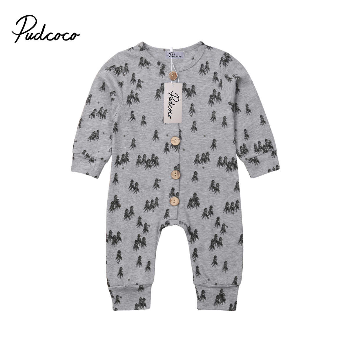 Baby Boy Girl Tree Jumpsuit Romper Cotton soft Pajamas Outfit for Newborn Baby Girl Infant Children Clothes Kid Clothing