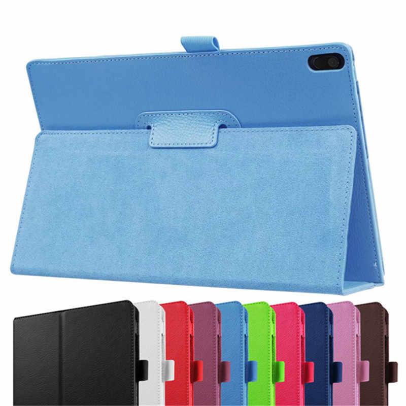 حافظة لجهاز لينوفو تاب 4 8 بلس TB-8704X TB-8704F حافظة TB-8704N فوليو PU حافظة جلدية لاجهزة لينوفو Tab4 8 Plus