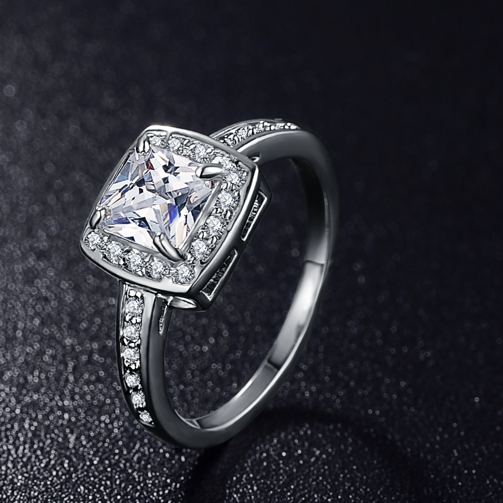 Engagement Rings On Sale Newcastle: Anfasni Hot Sale CZ Rings For Women Wedding & Engagement