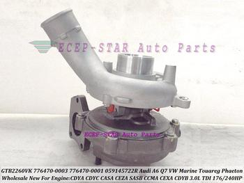 GTB2260VK 776470 776470-5003S 776470-5001S Turbo For Audi A6 Q7 VW Marine Touareg Phaeton 07- SASB CDYA CDYC CASA CEZA 3.0L TDI