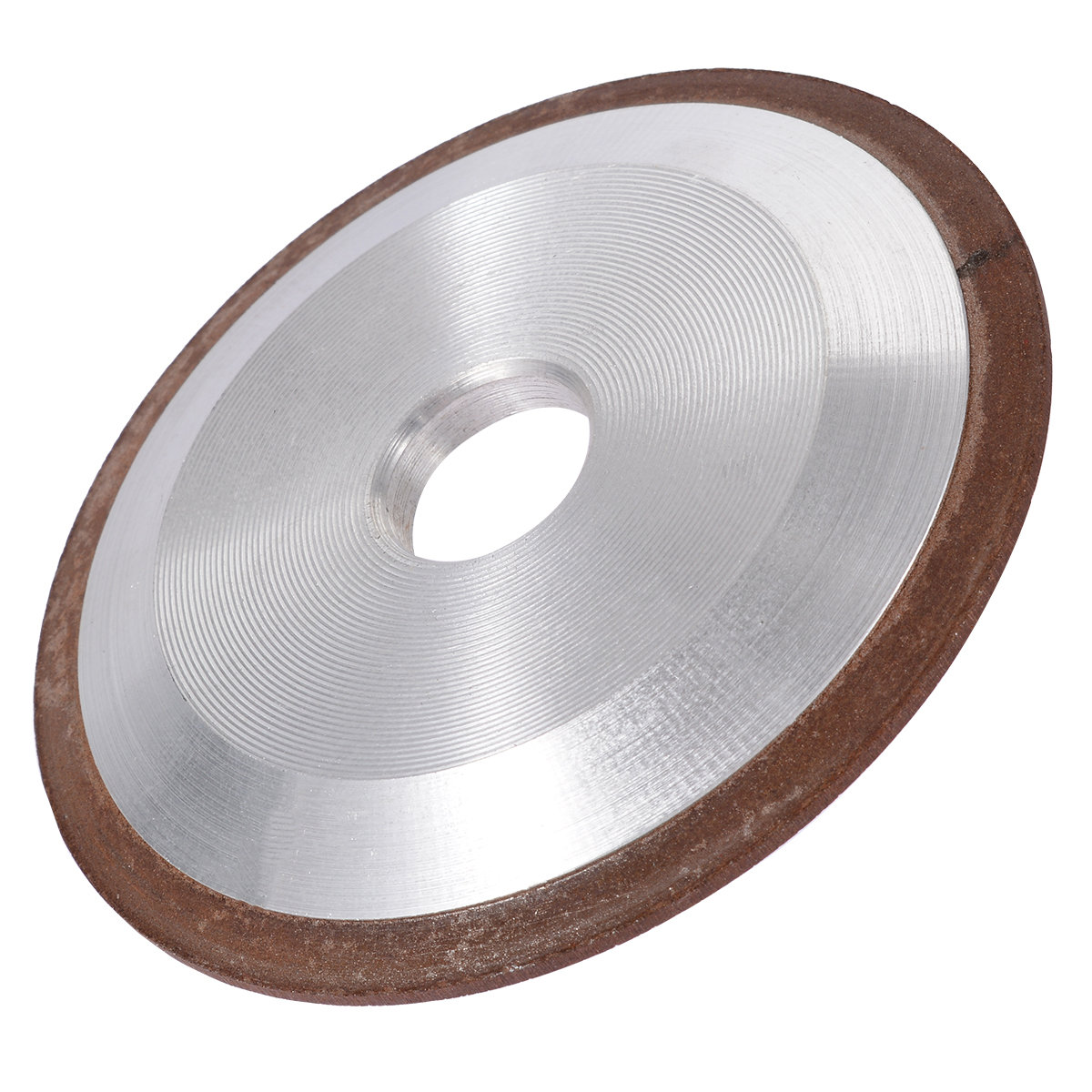 Mayitr One Side Cone Resin Diamond Grinding Wheel Disc Sharpening Emery Power Tools 125mm 150 Grit