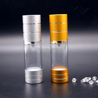 10/30/50pcs 30ml Spray bottle Airless Pump Emulsion Cosmetic Bottles Lotion Cream Containers Empty Vacuum Pump Vessel