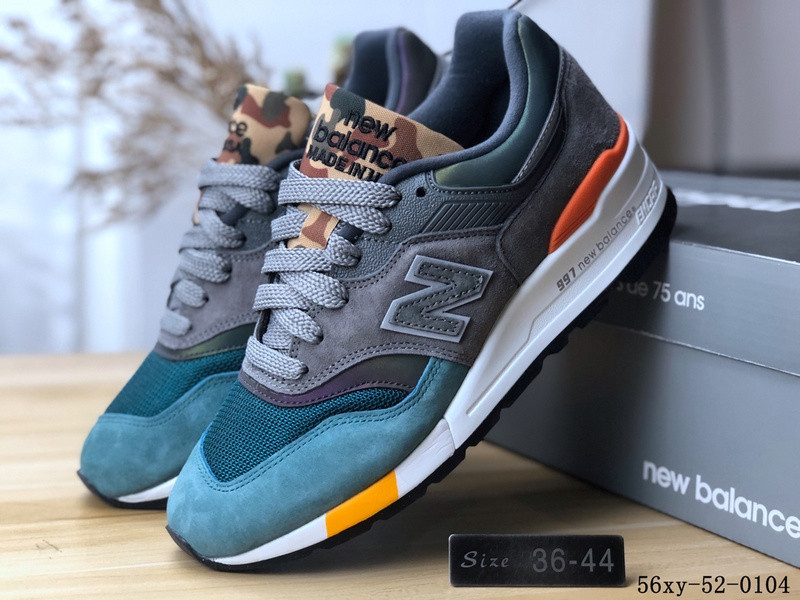 wholesale dealer 9cc6a d9597 US $83.88 5% OFF|2019 original New Balance 997 Men sports shoes NB997 joker  women running shoes 2 color Eur36 44-in Running Shoes from Sports & ...