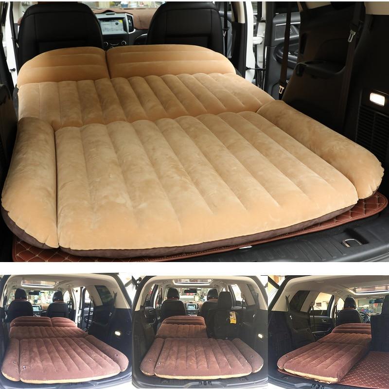 190*119*12.5CM Camping Car Bed SUV Inflatable Car Mattress For Auto Mattress Flocking Portable Inflatable Cushion Car Travel Bed190*119*12.5CM Camping Car Bed SUV Inflatable Car Mattress For Auto Mattress Flocking Portable Inflatable Cushion Car Travel Bed