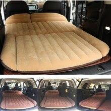 Colchão inflável para carro, cama de carro portátil para acampamento, suv, 190*119*12.5cm, almofada inflável para automóvel cama de viagem para carros