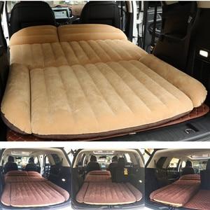 Image 1 - Lit de voiture gonflable pour Camping, matelas de voiture gonflable, coussin de voiture, Portable, pour voyage, pour SUV, 190x119x12.5CM