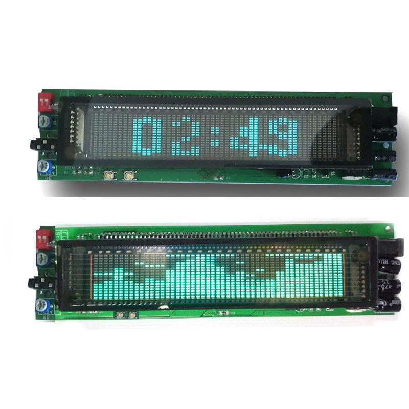 12V 24V VFD clock Music Spectrum Display Analyzer MP3 PC Amplifier Audio Level Indicator music rhythm