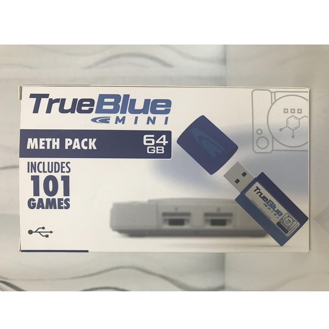 HOBBYINRC True Blue Mini 64G 101 Games Crackhead Pack +64G 101 Games Meth Pack for PlayStation Classic Games & Accessories