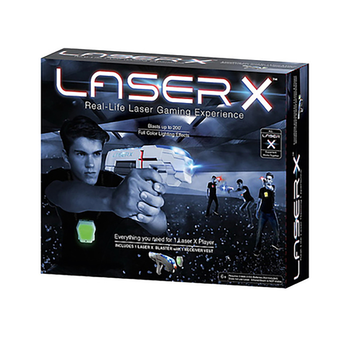 LASER X Toy Guns 8335486 for boys Arms Baby boy Kids Games Toys Outdoor Fun & Sports factory price mini 7 watt rgb laser projector for disco dancing hall club outdoor ad graphics