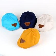 7a612dfb0af50 Nueva primavera y otoño de los niños de color boina pintor sombrero bebé  sombrero boina niño niña bebé sombrero bebé niños estud.