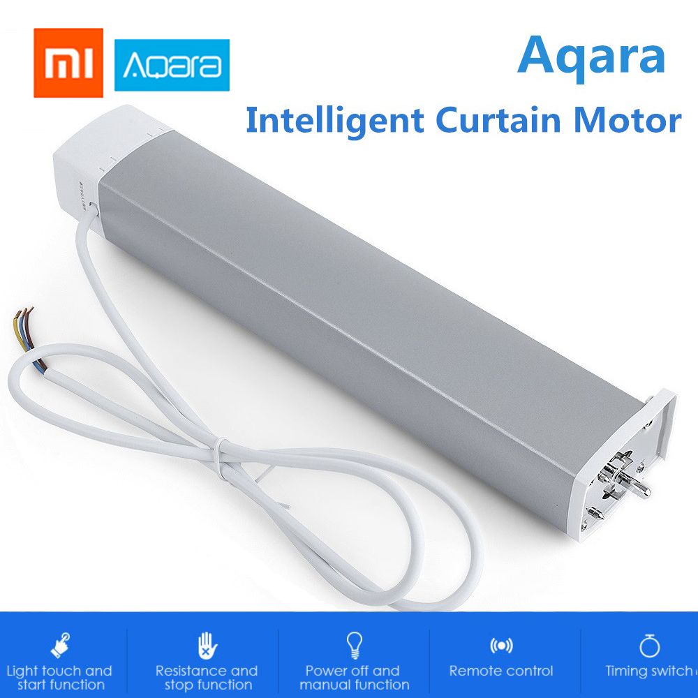 Xiao mi Aqara Intelligent moteur de rideau Intelligent ZigBee Wifi pour Xiao mi dispositif de maison intelligente mi APP télécommande Aqara rideau