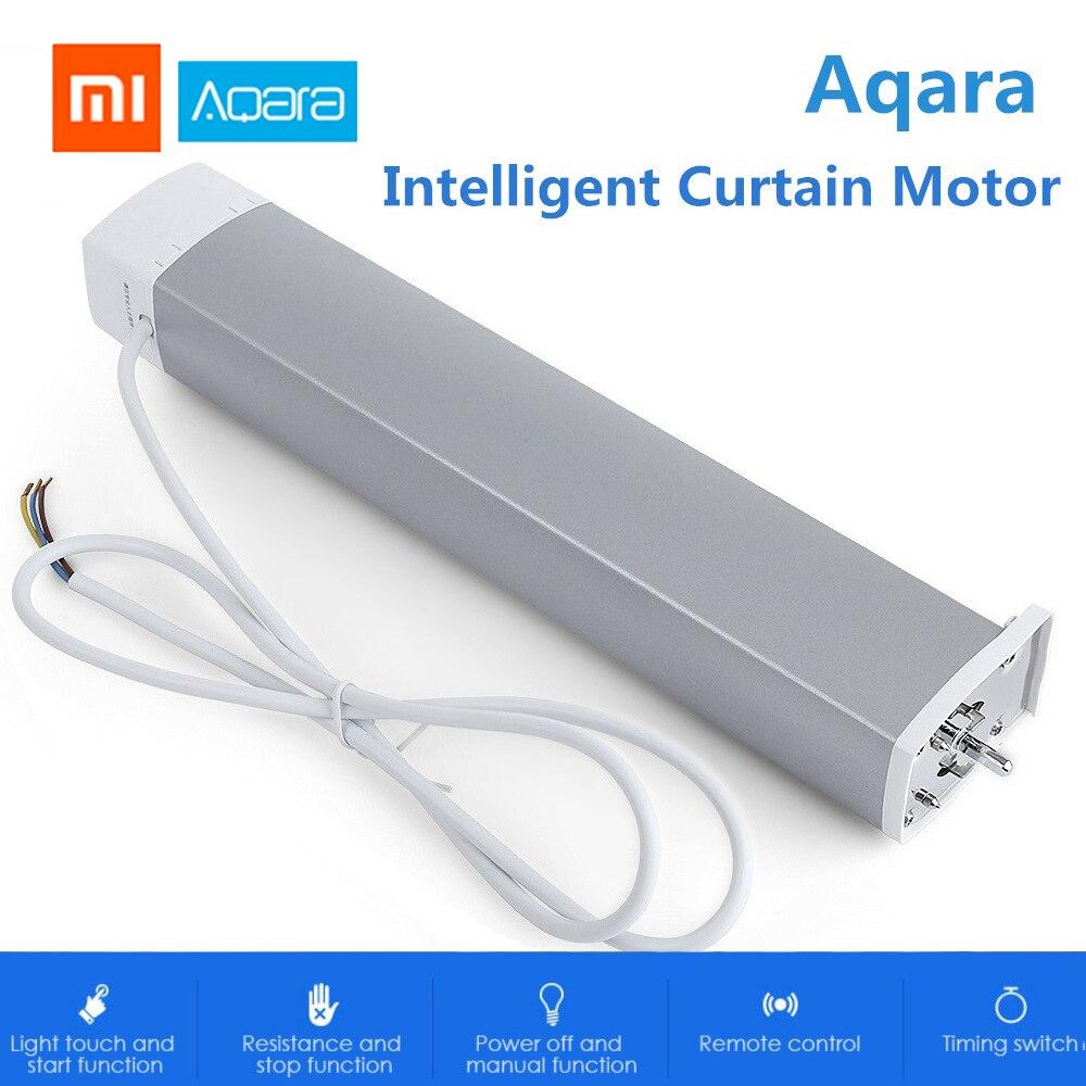Xiao mi Aqara moteur de rideau Intelligent ZigBee Wifi pour Xiao mi dispositif de maison intelligente mi APP télécommande moteur de rideau Intelligent
