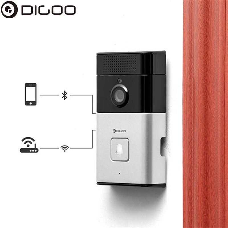 DIGOO SB-XYZ умный дом беспроводной дверной звонок Bluetooth wifi HD видео дверной звонок камера телефон кольцо умная камера безопасности