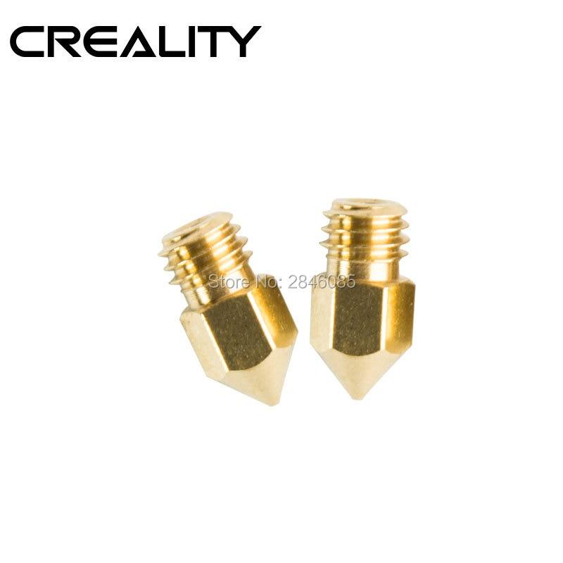 Unter Der Voraussetzung 6 Teile/los 3d Drucker Teile Düse Gemischt Größen 0,2mm/0,3mm/0,4mm Extruder Druckkopf Für 1,75 Mm Mk8 Makerbot Creality 3d Drucker 3d-drucker Und 3d-scanner