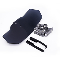 Motorcycle Adjustable Clip On Windshield Extension Spoiler Wind Deflector Motorcycle Accessories
