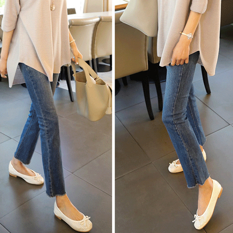Spring Summer Jeans For Wome Hiigh Waist Washed Slim Fit Blue Straight Denim Pants Femme Trousers Plus Size 4XL in Jeans from Women 39 s Clothing