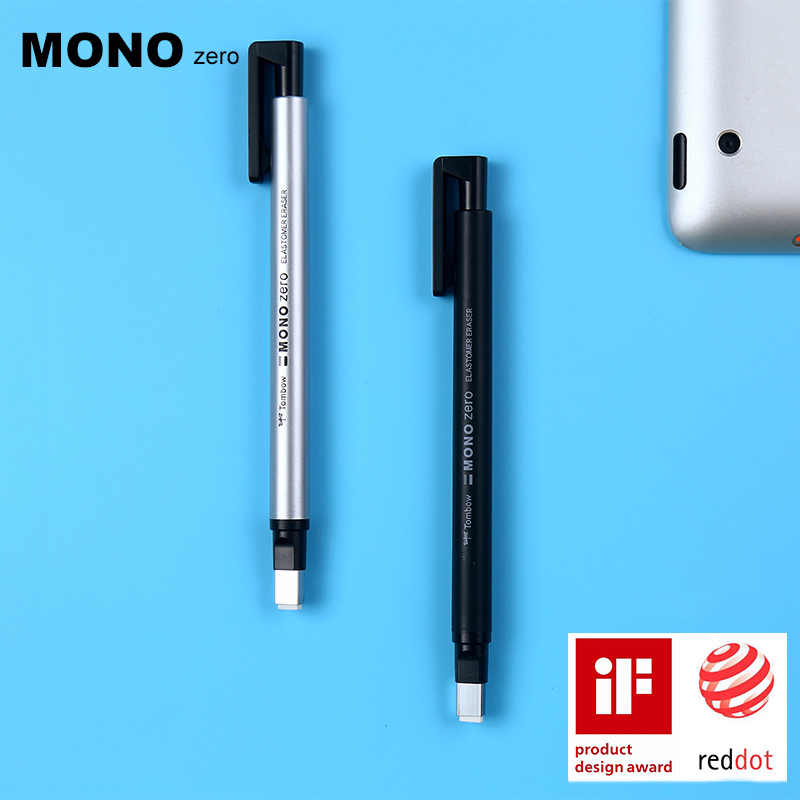 TOMBOW MONO Zero Ultrafine Pencil Rubber Perfect Revise Details/Highlight For Manga Design Round/Square Toe Eraser