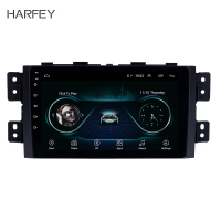 Harfey 2Din Quad Core Car Radio GPS Multimedia Player 9 Android 8.1 Head Unit For KIA Borrego 2008 2009 2010 2011 2012 2016