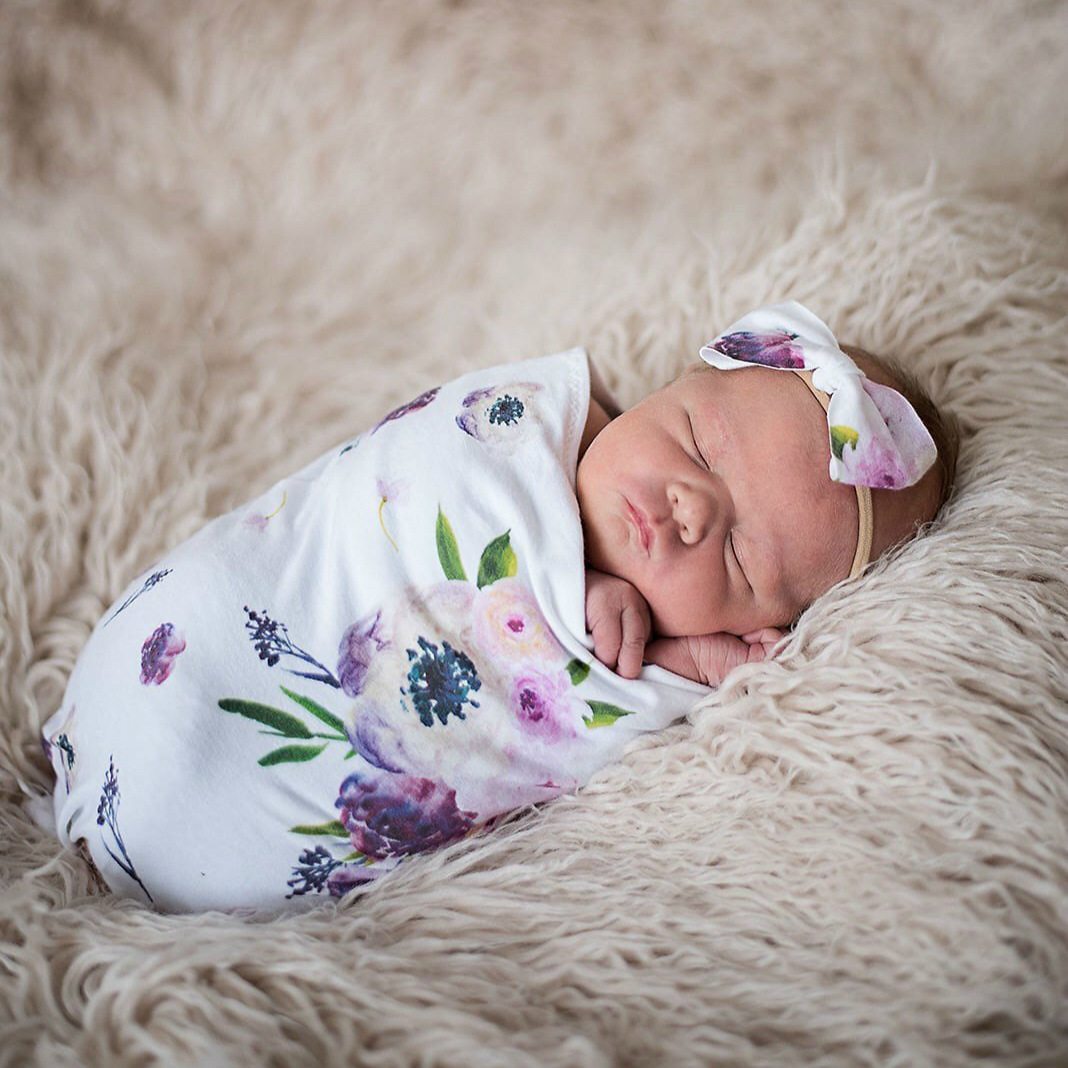 Newborn Baby Photography Props Accessories Infant Sleeping Bag+headband Baby Photo Props Swaddle Wrap Baby Photography Costume