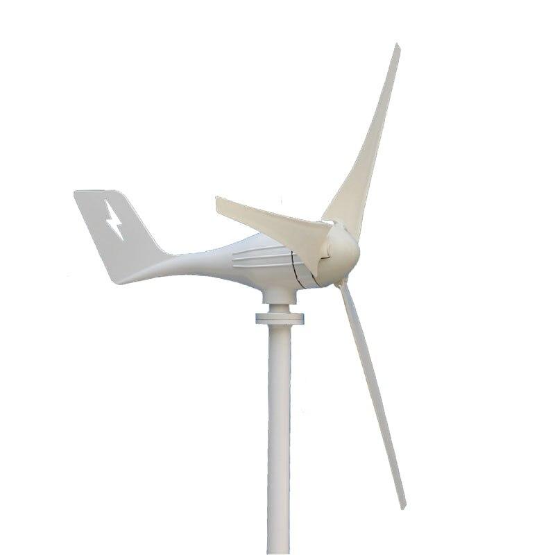 600 W 12 V 24 Volts 3 Nylon fibre Lames Éoliennes Horizontales Générateur alimentation Moulin À Vent D'énergie Chargeur Tension Kit la maison