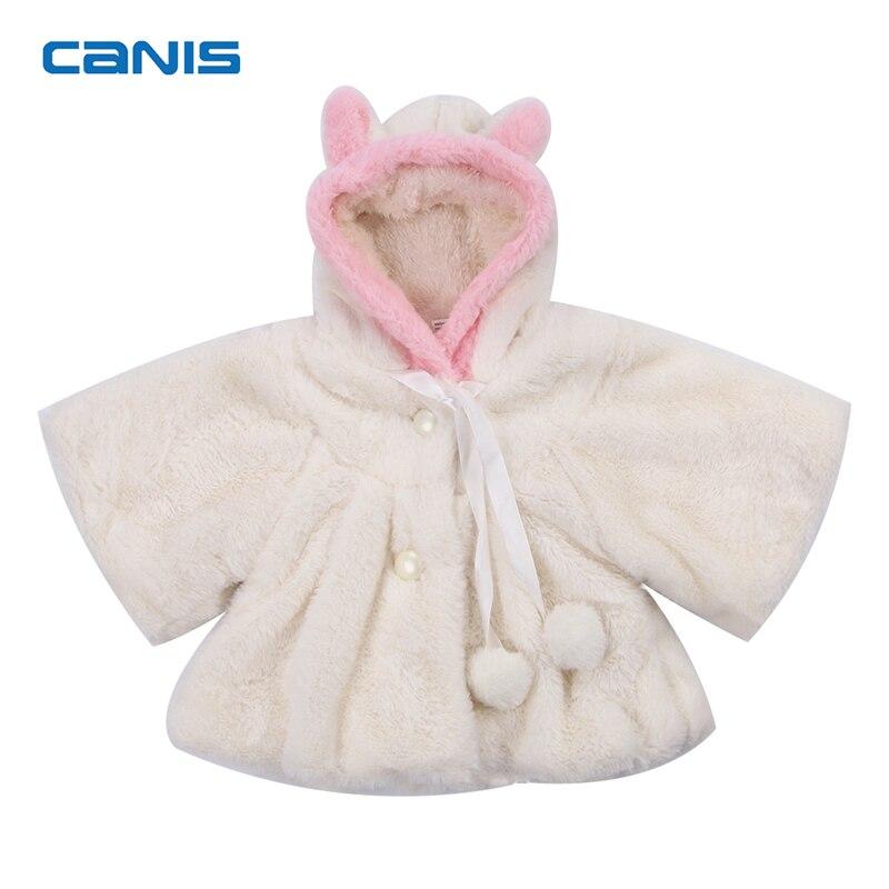 2018 Neue Frühling Herbst Strickjacke Infant Baby Mädchen Niedlichen Cartoon-form Baby Kleidung Mantel Weiche Kapuze Warme Mantel Infant Jacke