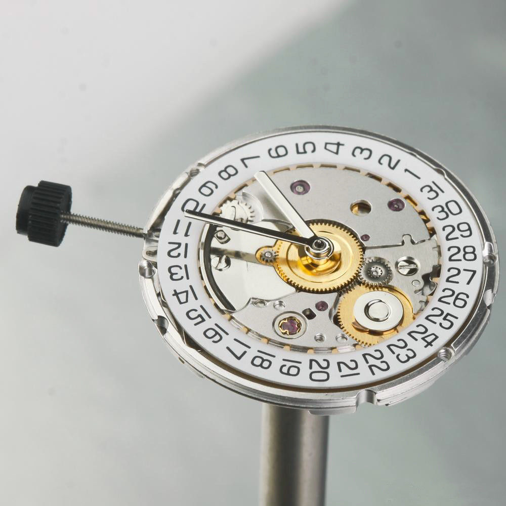 Mechanical Watch Automatic Movement High Accuracy Repair Replacement Accessories 2824 2824 2 Polish Finish For ETA